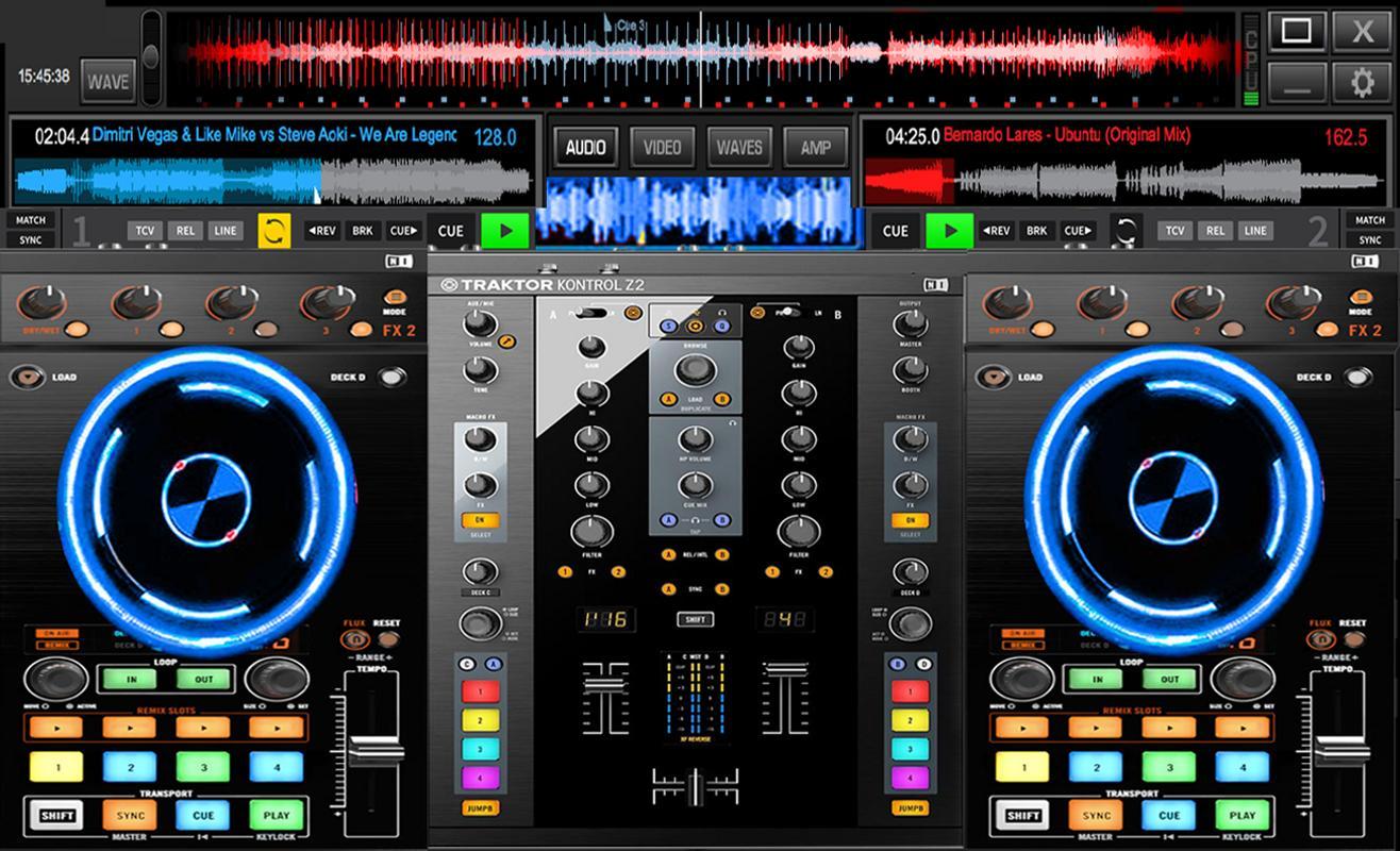 DJ Music Mixer Overview