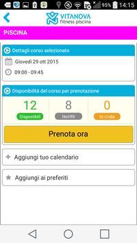 Vitanova Fitness Piscina apk screenshot