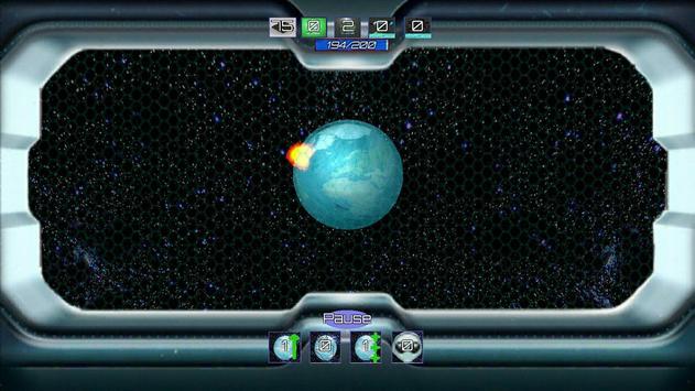 Earth in the porthole screenshot 1