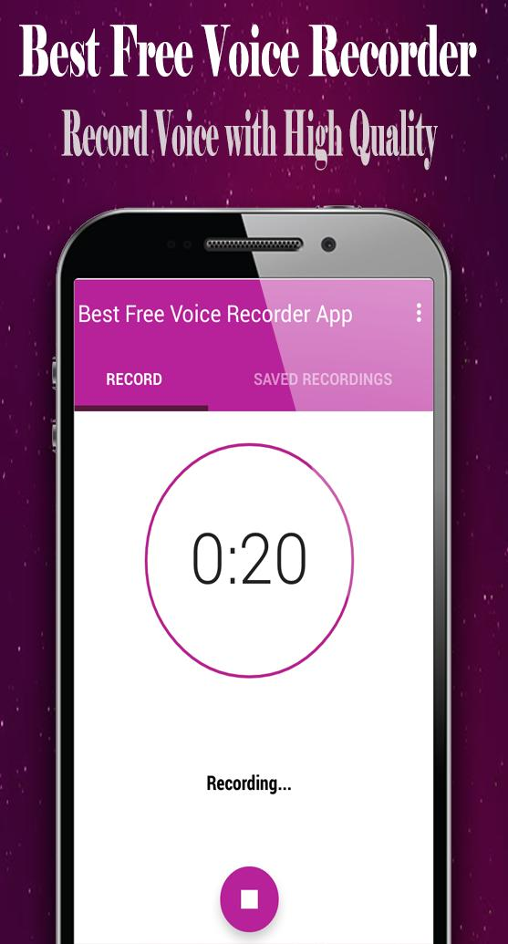 Best Free Voice Recorder App for Android - APK Download