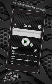 Voice Recorder and Editor screenshot 1