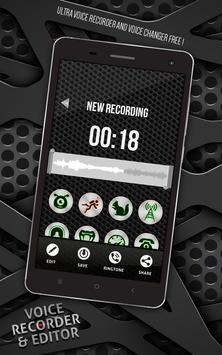 Voice Recorder and Editor screenshot 2