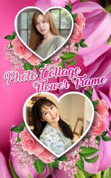 Photo collage - flower frame screenshot 3