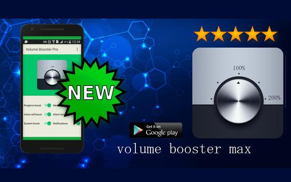 Volume Booster Pro poster