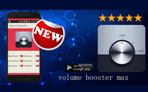 Volume Booster Pro apk screenshot