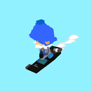 Voxel Snowboard ONLINE APK
