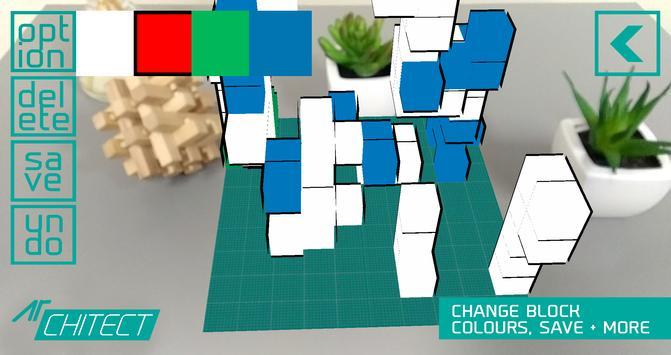 AR CHITECT - augmented reality [AR] 3D design apk screenshot