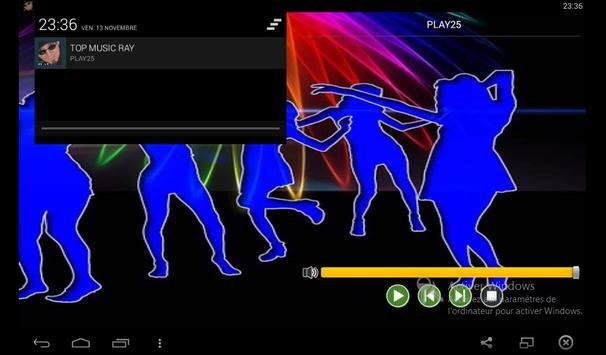 TOP MUSIC RAY 2016 apk screenshot