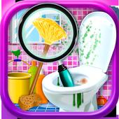 Messy Bathroom Hidden Objects icon