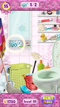 Messy Bathroom Hidden Objects screenshot 2