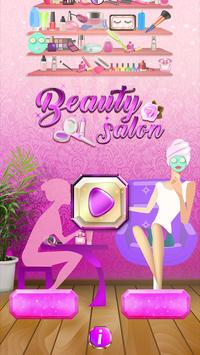 Beauty Salon Hidden Object Game poster