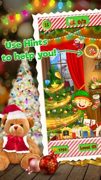 Hidden Objects Christmas poster