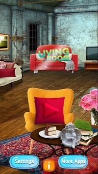 Living Room Hidden Object - Seek and Find Game poster