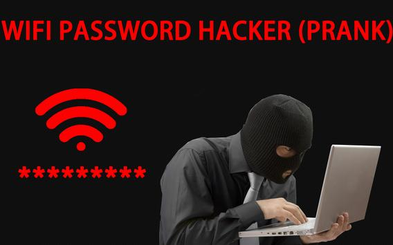 WIFI password hacker (prank) apk screenshot