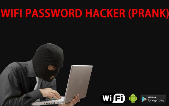 WIFI password hacker (prank) poster