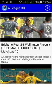 A League HD Highlights screenshot 2