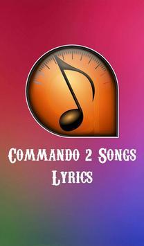 Commando 2 Songs Lyrics poster