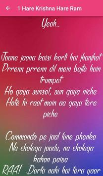 Commando 2 Songs Lyrics screenshot 2