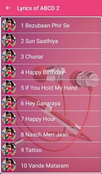 ABCD 2 Songs Lyrics for Android - APK Download