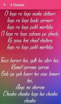 Badmaash Company Songs Lyrics screenshot 4