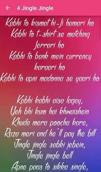 Badmaash Company Songs Lyrics screenshot 5