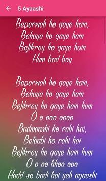 Badmaash Company Songs Lyrics screenshot 6
