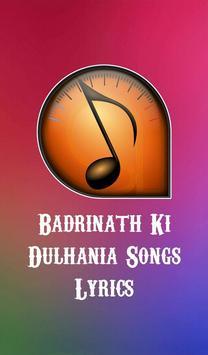 Badrinath Ki Dulhania Songs poster