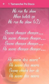 Lyrics of Bullet Raja تصوير الشاشة 1