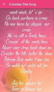 Gunday Songs Lyrics screenshot 6