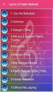 Best of Daler Mehndi screenshot 1