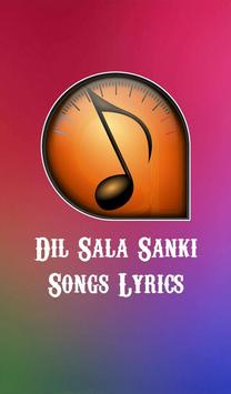 Lyrics of Dil Sala Sanki poster