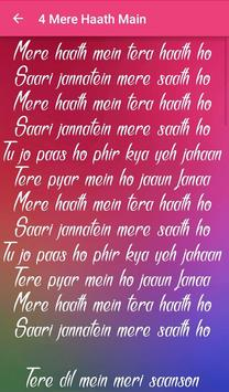 Fanaa Songs Lyrics screenshot 4