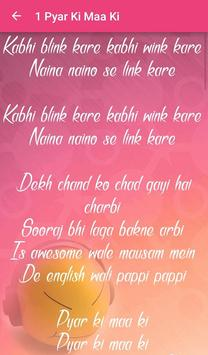 Housefull 3 Songs Lyrics apk screenshot