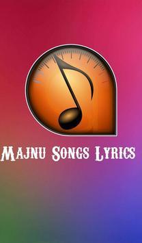 Lyrics of Majnu poster