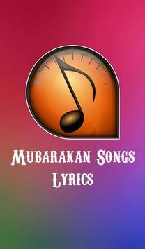 Mubarakan Songs Lyrics poster