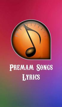 Premam Songs Lyrics poster
