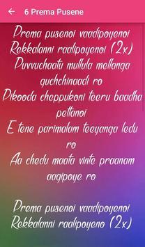 Premam Songs Lyrics apk screenshot