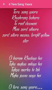 Top 10 Hindi Love Songs Lyrics screenshot 4