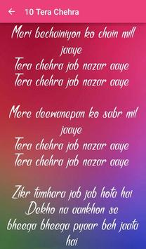 Top 10 Hindi Love Songs Lyrics screenshot 7