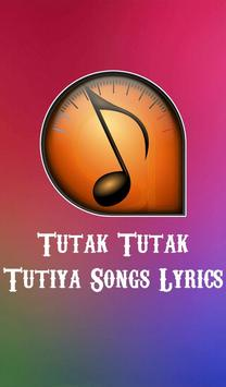 Tutak Tutak Tutiya Song Lyrics poster