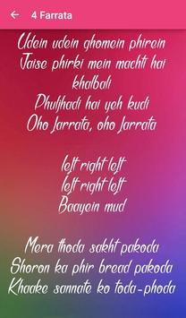 Tumhari Sulu Songs Lyrics screenshot 19