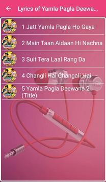 Yamla Pagla Deewana 2 Lyrics screenshot 1