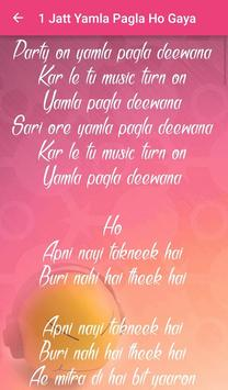 Yamla Pagla Deewana 2 Lyrics screenshot 2