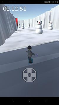 Strange snow board apk screenshot