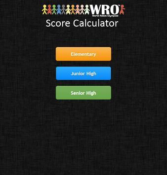 WRO 2013 Scoring App screenshot 4