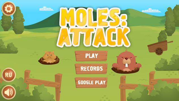 MOLES: ATTACK poster
