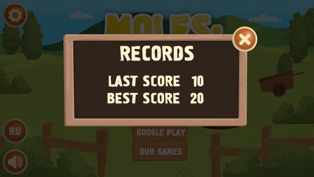 MOLES: ATTACK apk screenshot