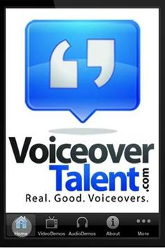 Voiceover Talent poster