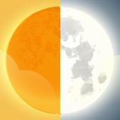 Logic Sun Moon: Puzzle Game v. Light Yellow (Free) icon