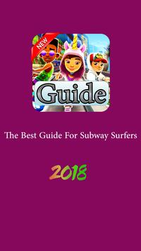 guide for subway run 2018 poster